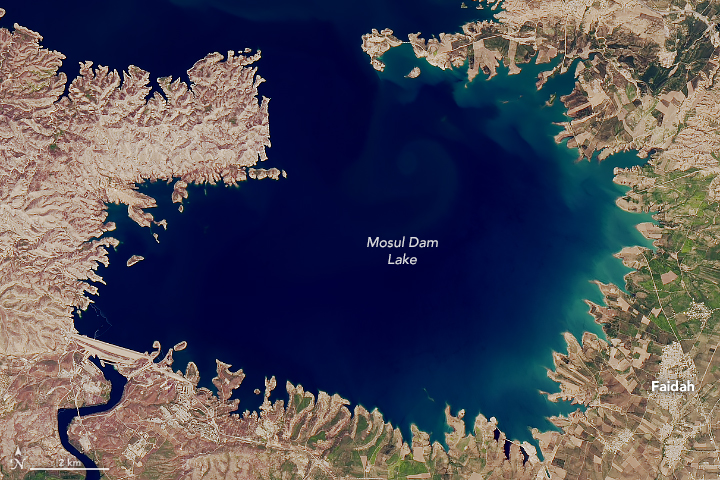 Reservoir Swells Upstream of Mosul - related image preview