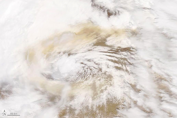 Dust Swirls over Asia
