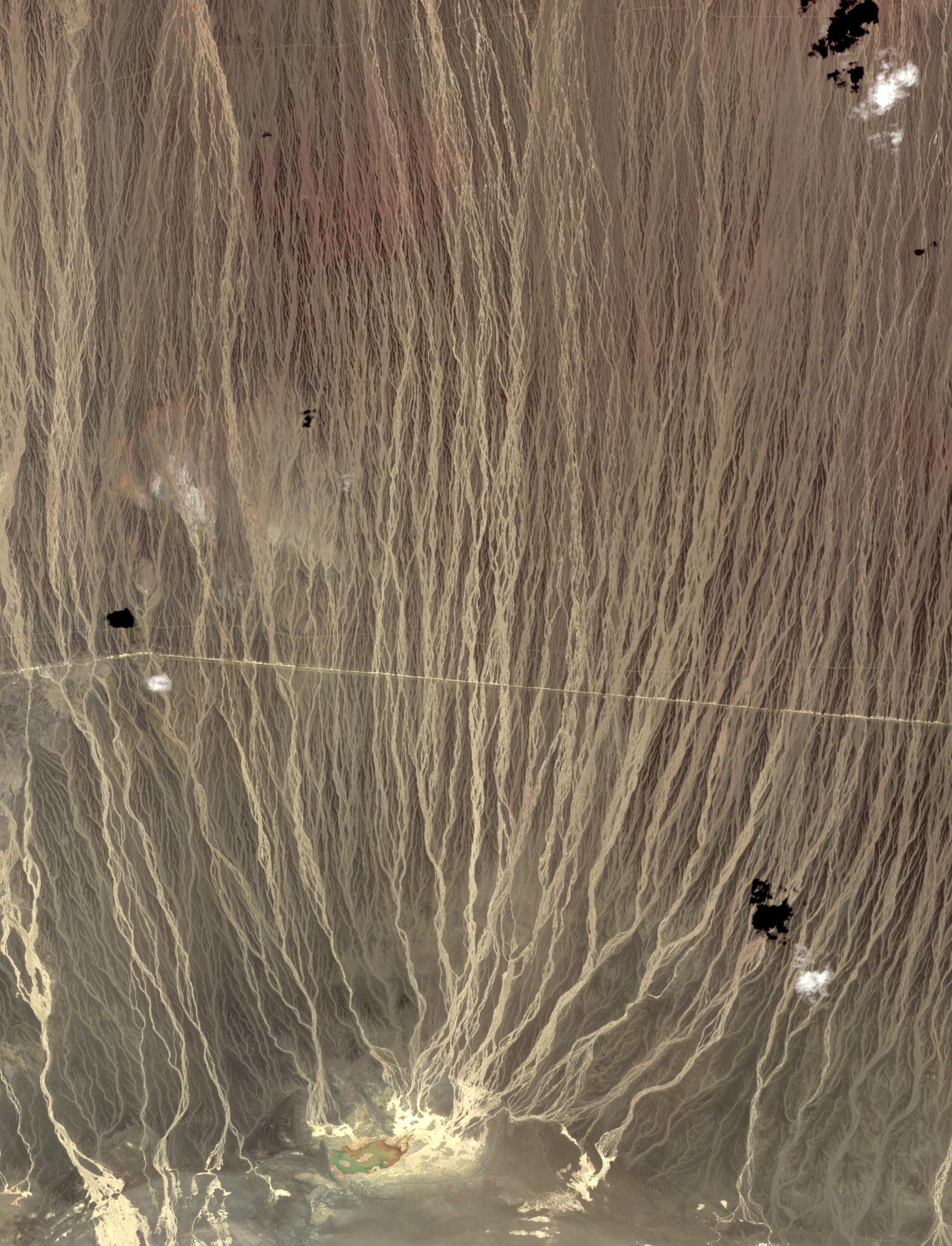 Alluvial Fans in Southern Mongolia - related image preview