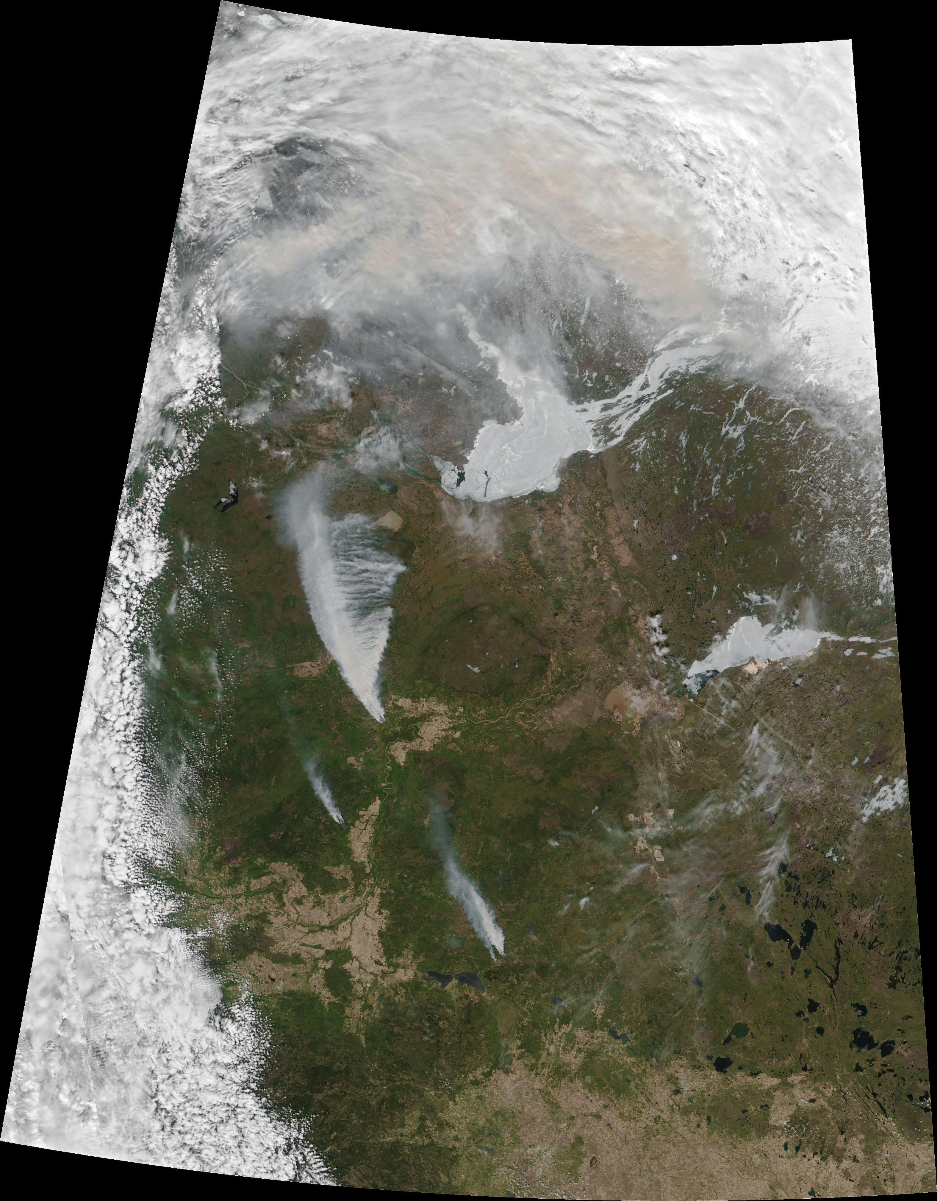 Wildfires Threaten Northern Alberta - related image preview