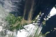 Dust Storm in Hokkaido