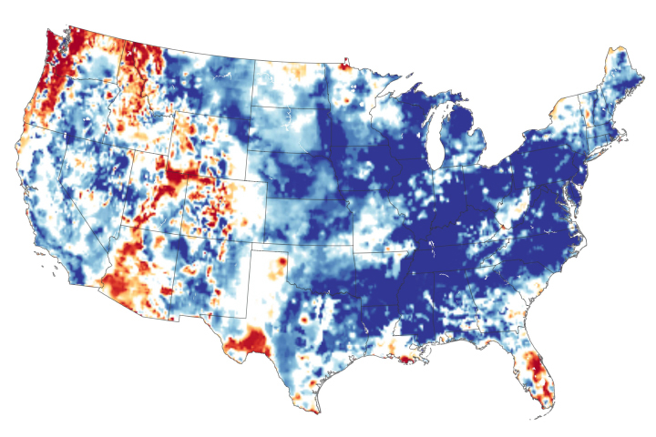 Record-Setting Precipitation Leaves U.S. Soils Soggy - selected image