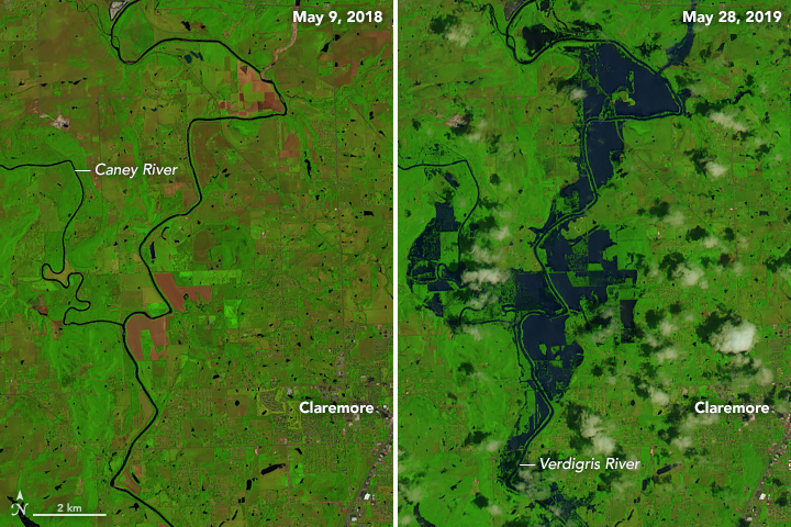 Flooding Along the Arkansas River - related image preview