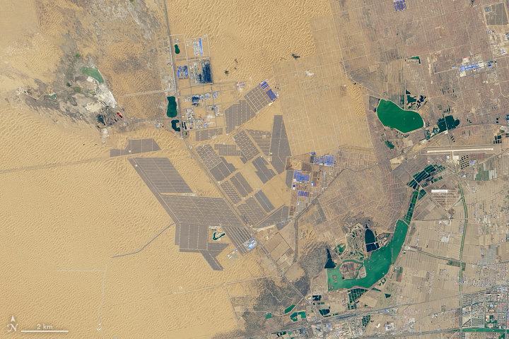 Solar-Powered China
