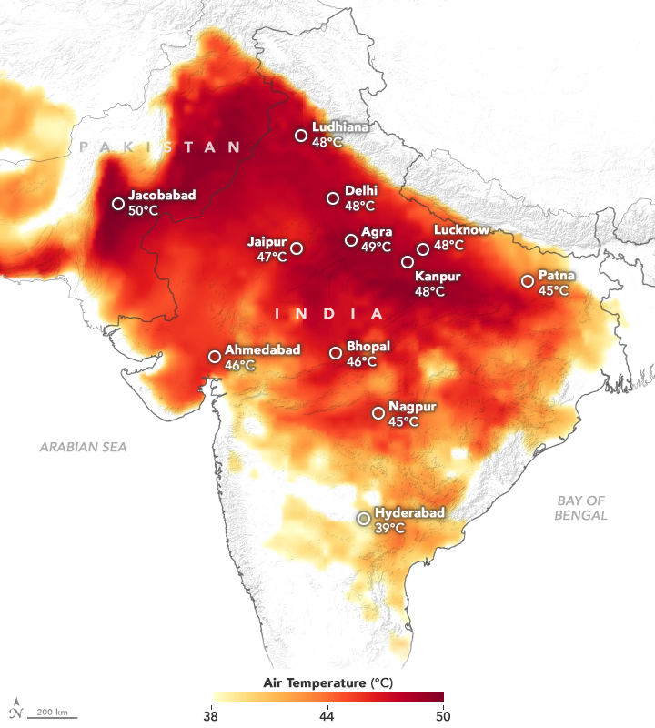 Heatwave in India