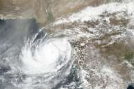 Cyclone Vayu Approaches Western Coast of India
