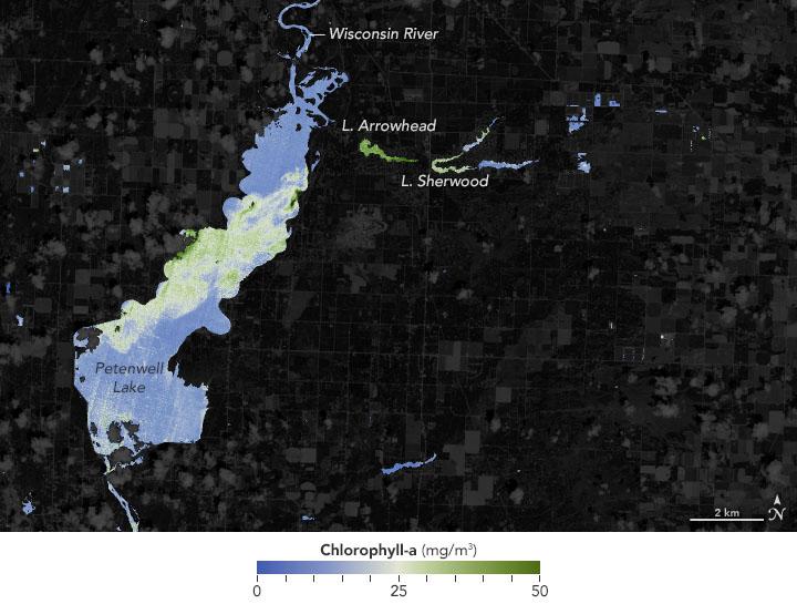NASA Helps Warn of Harmful Algae in Lakes, Reservoirs