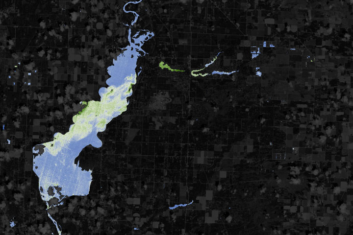 NASA Helps Warn of Harmful Algae in Lakes, Reservoirs - selected image