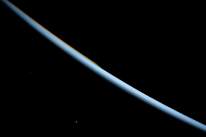 Viewing Venus from the Space Station