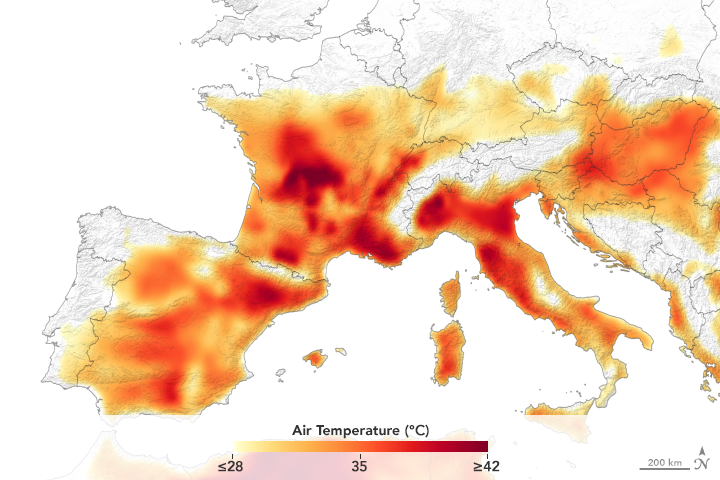 Heatwave Scorches Europe - related image preview