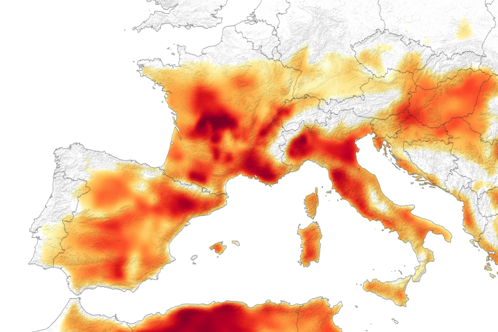 Heatwave Scorches Europe