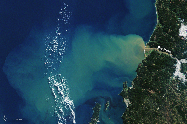 Atmospheric River Swells Terrestrial Rivers - related image preview