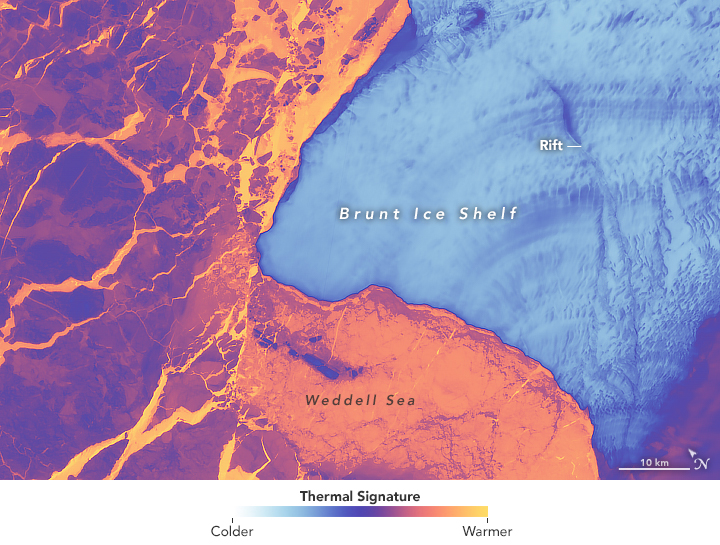 Brunt Ice Shelf Survives the Solstice - related image preview
