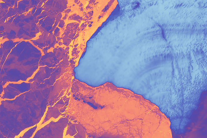 Brunt Ice Shelf Survives the Solstice - selected image