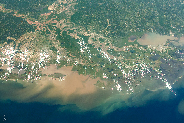Long View of the Mississippi River Delta - related image preview