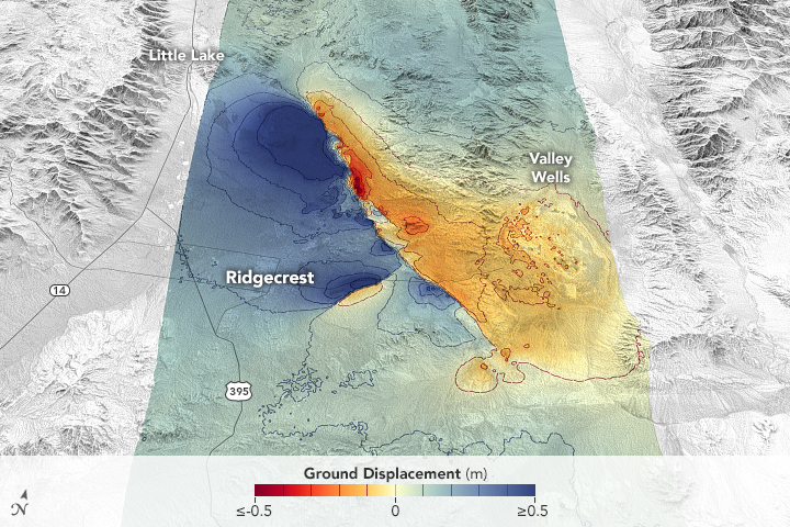 Measuring Movement from the Ridgecrest Quake - related image preview