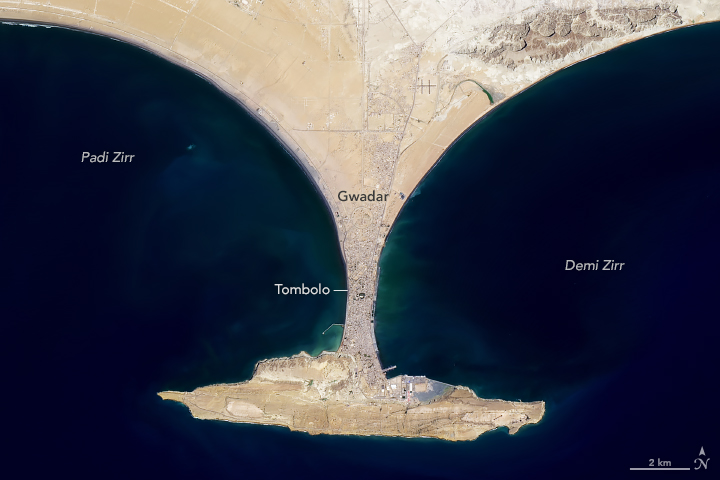 Hammerhead Horsts on the Makran Coast - related image preview