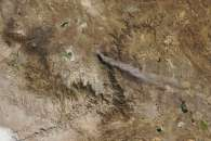 Ubinas Volcano Erupts