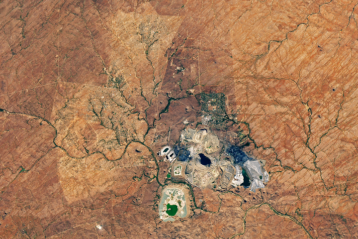 South Africa's Largest Open-Pit Mine - selected image