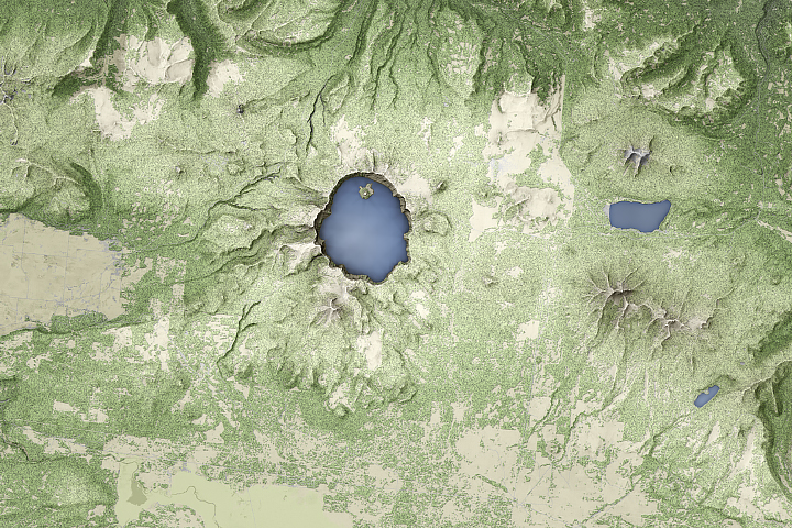 The Ups and Downs of Crater Lake