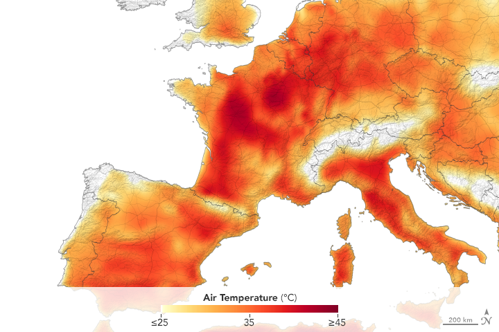 A Second Scorching Heatwave in Europe - related image preview