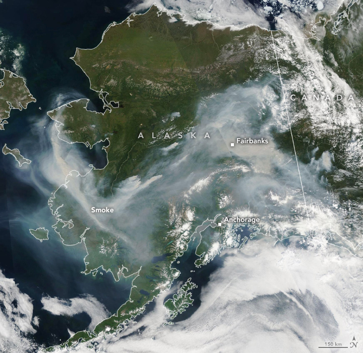 Arctic Fires Fill the Skies with Soot - related image preview