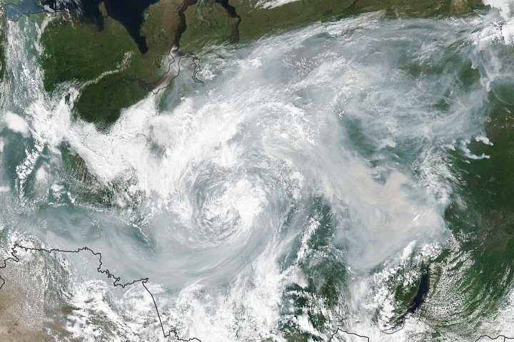 Arctic Fires Fill the Skies with Soot - selected image