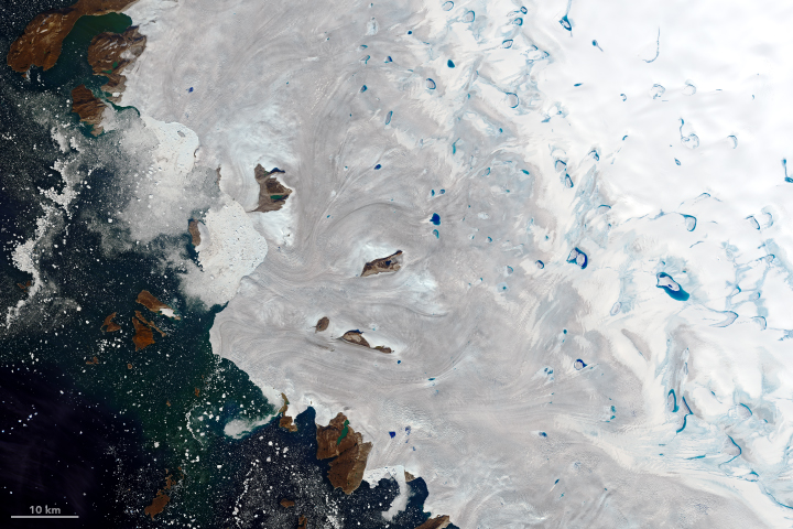 Warm Weather Brings Major Melting to Greenland - related image preview