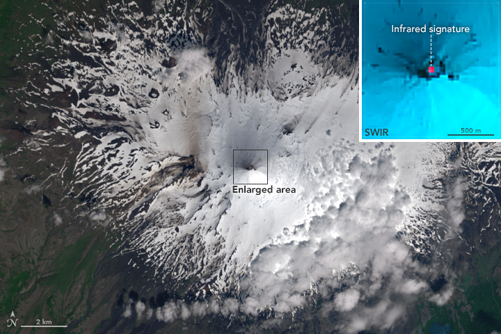 Heightened Activity at Shishaldin Volcano - related image preview