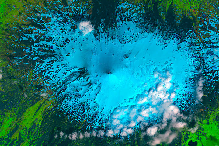 Heightened Activity at Shishaldin Volcano - selected image