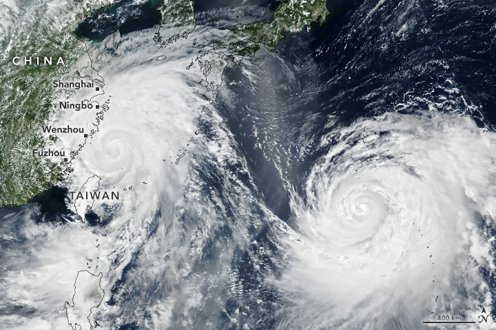 Typhoon Lekima Nears China - related image preview