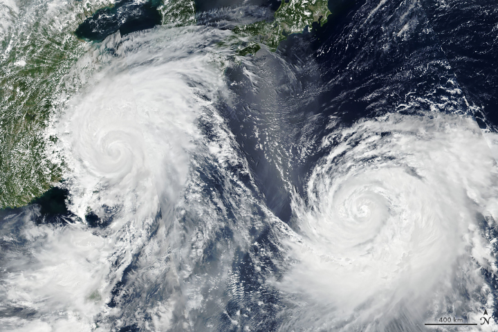 Typhoon Lekima Nears China - related image preview