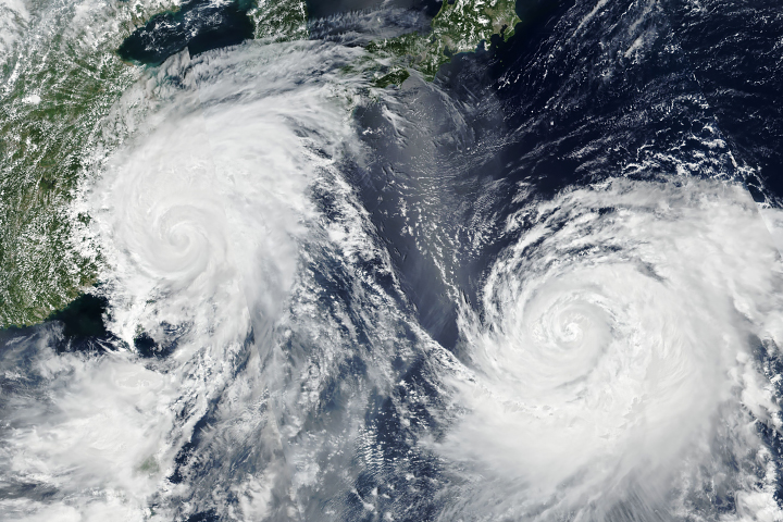 Typhoon Lekima Nears China