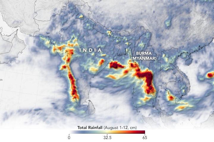 Heavy Monsoon Rains Flood South Asia - related image preview
