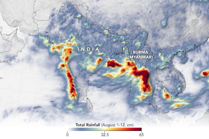 Heavy Monsoon Rains Flood South Asia