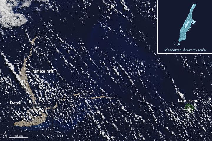 Imagen del Observatorio de Tierra de la NASA