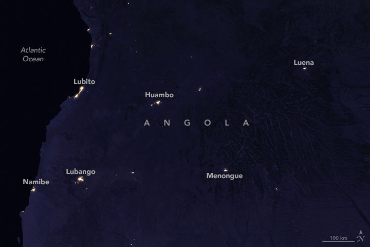 Seasonal Fires are Burning in Angola - related image preview