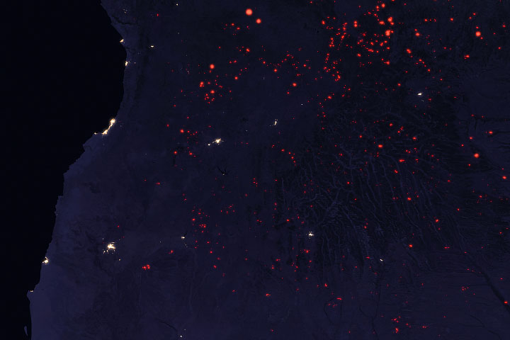 Seasonal Fires are Burning in Angola - selected image