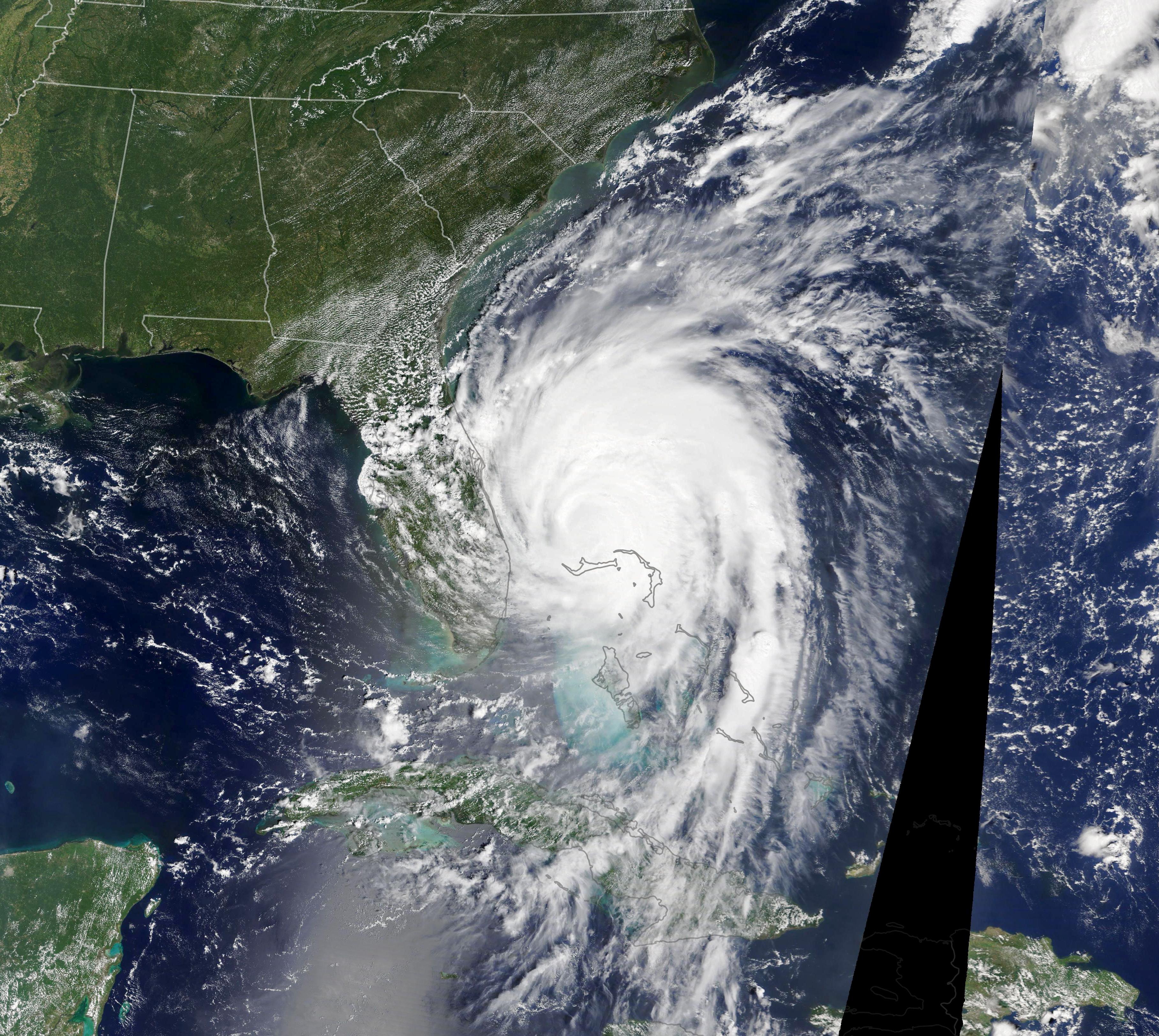 Hurricane Dorian Nears U.S. Southeast - related image preview