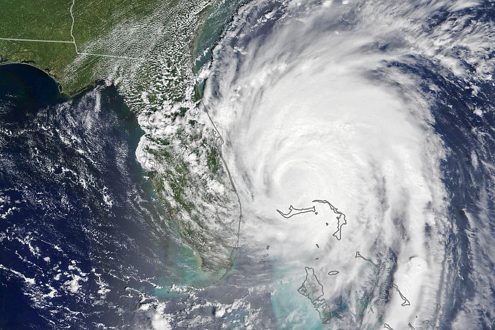 Hurricane Dorian Nears U.S. Southeast