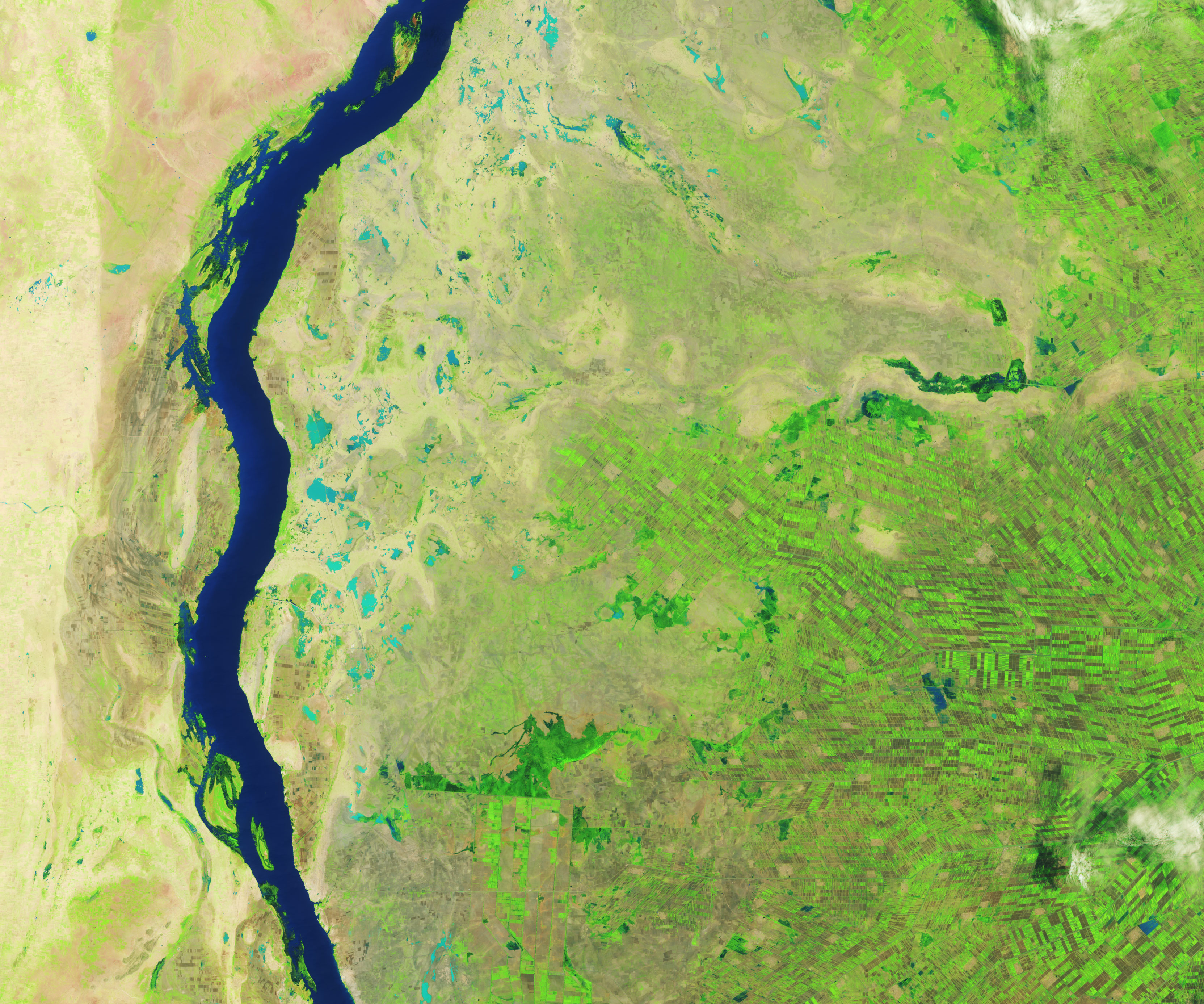 Floods Swamp Sudan - related image preview