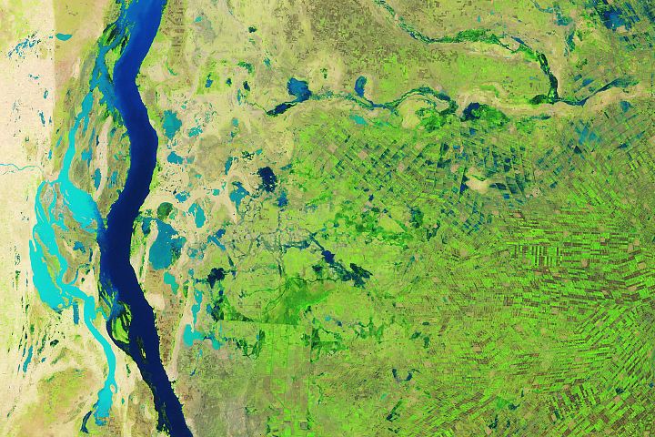 Floods Swamp Sudan