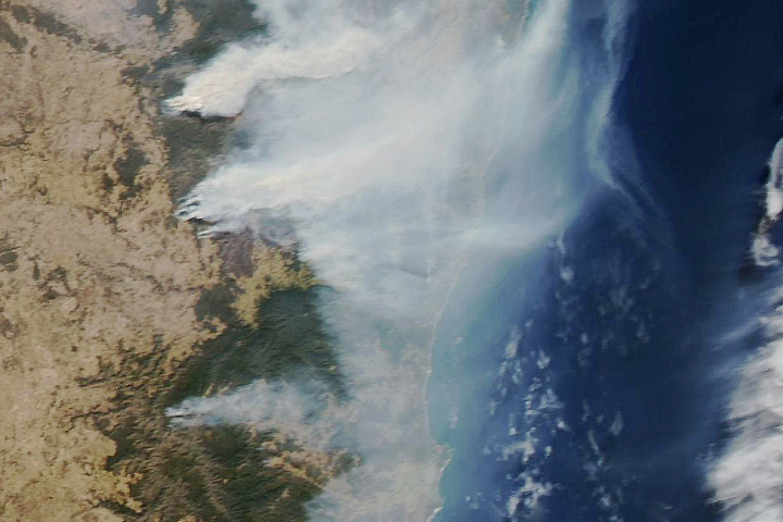 Drought Exacerbates Australian Fires - selected image