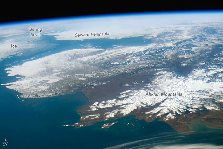 Clear Skies Over Alaska