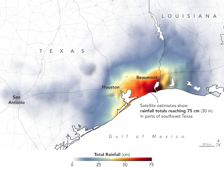 Downpours Flood Southeast Texas