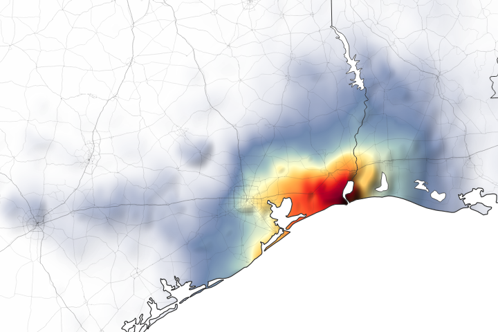 Downpours Flood Southeast Texas - selected image