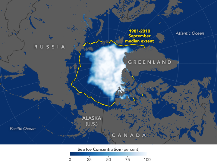 2019 Arctic Sea Ice Minimum Is Second Lowest - related image preview