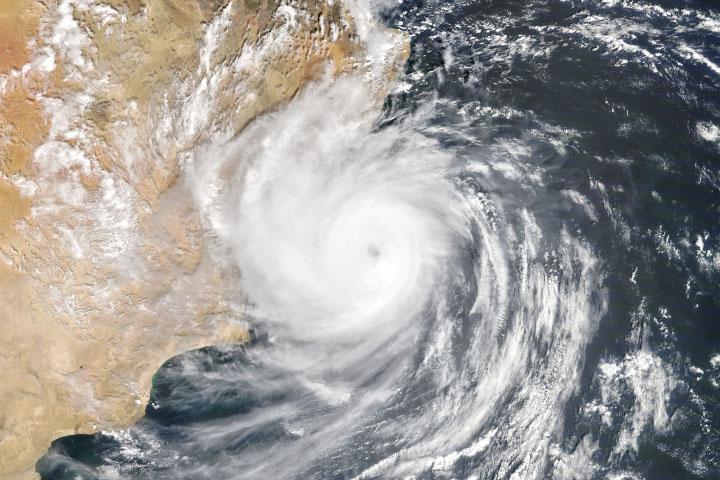 Cyclone Hikaa Hits Oman