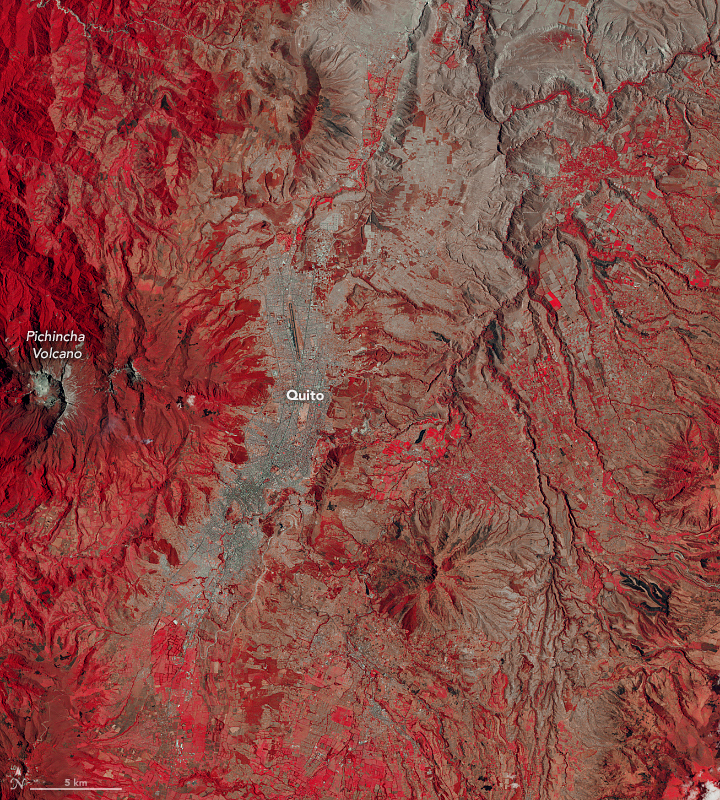 Three Decades of Urban Expansion in Quito - related image preview