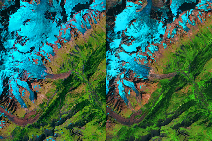 Ice Could Crumble from Planpincieux Glacier - selected image